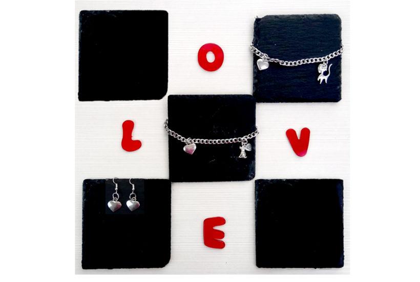 San Valentino – COMPLETO orecchini e bracciale
