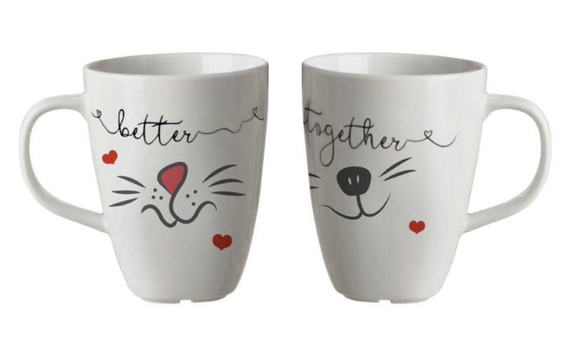 San Valentino – BETTER TOGETHER Set 2 tazze