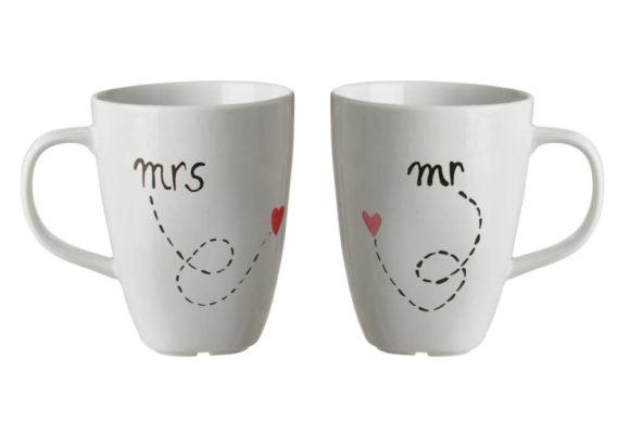San Valentino – MR & MRS Set 2 tazze