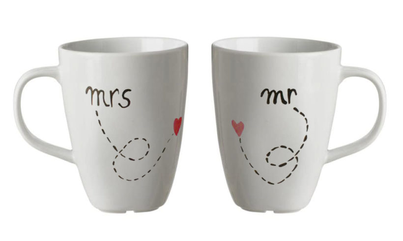 San Valentino – MR & MRS Set 2 tazze