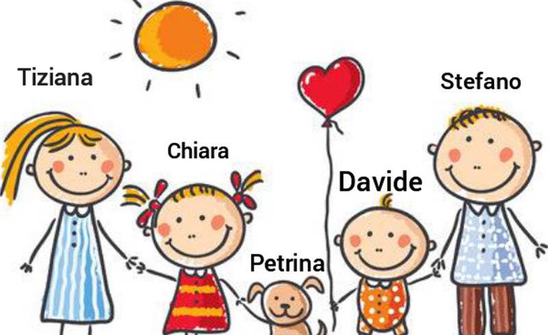 Petrina ha raggiunto la sua famiglia